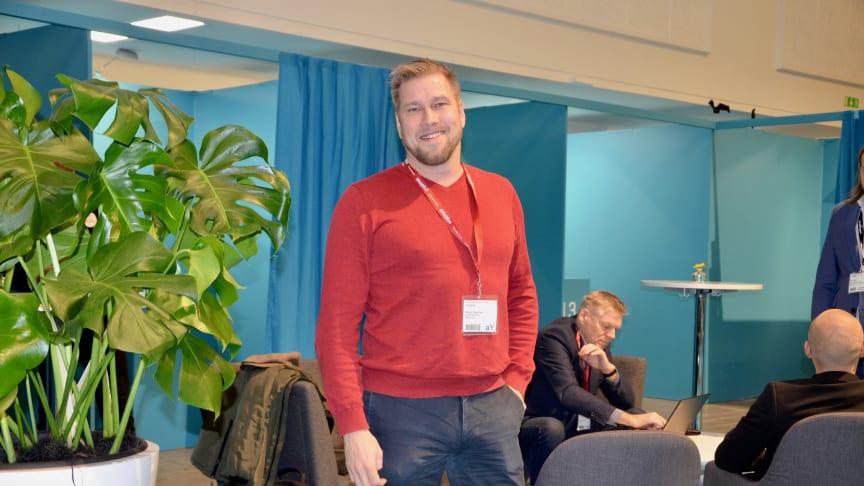 Niklas Sikström från Ignite var med och arrangerade Ignite Elmia.