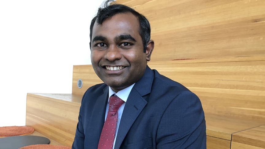– Bra simuleringsmodeller som fungerar industriellt kan göra stor skillnad inom skärande bearbetning, säger Ashwin Devotta som nu ska applicera sina forskningsresultat inom Sandvik Coromant.