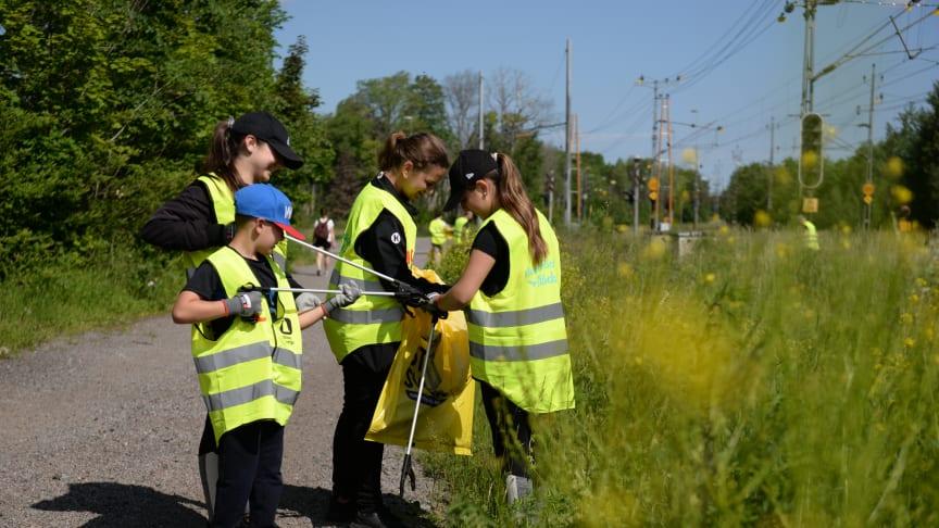 Nu startar årets upplaga av ICA och Städa Sveriges nationella miljösamarbete Klara, färdiga, städa!