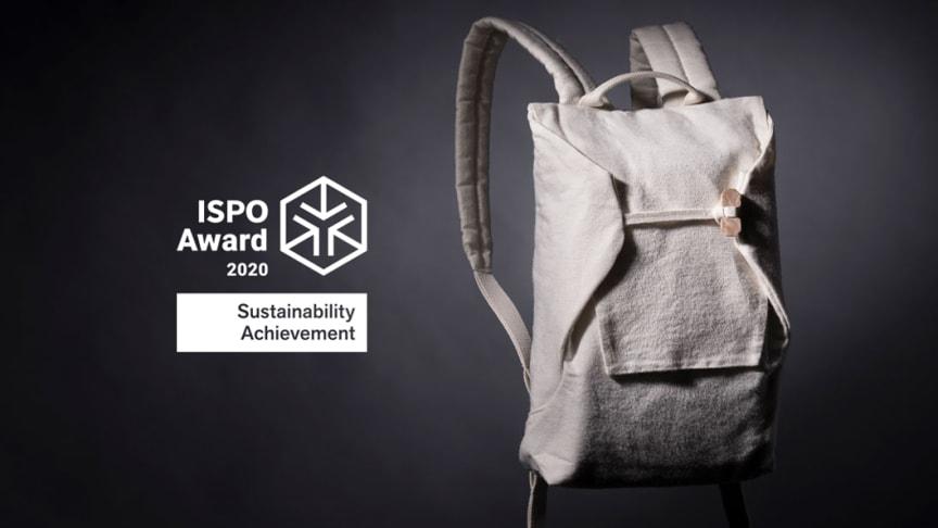 Spinnova x Bergans samarbeidet ved navn The Collection of Tomorrow har blitt hedret med Sustainable Achievement i ISPO Awards 2020.
