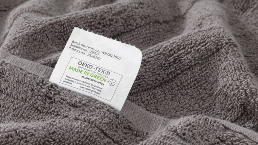 JYSK introducerer MADE IN GREEN by OEKO-TEX på tekstiler