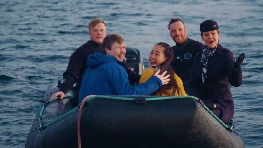 Kjærlighet på dypt vann – bokstavelig talt