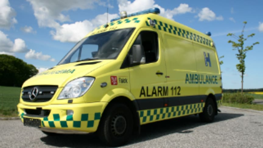 Falck awarded first contract in tender for ambulance services in Region Zealand