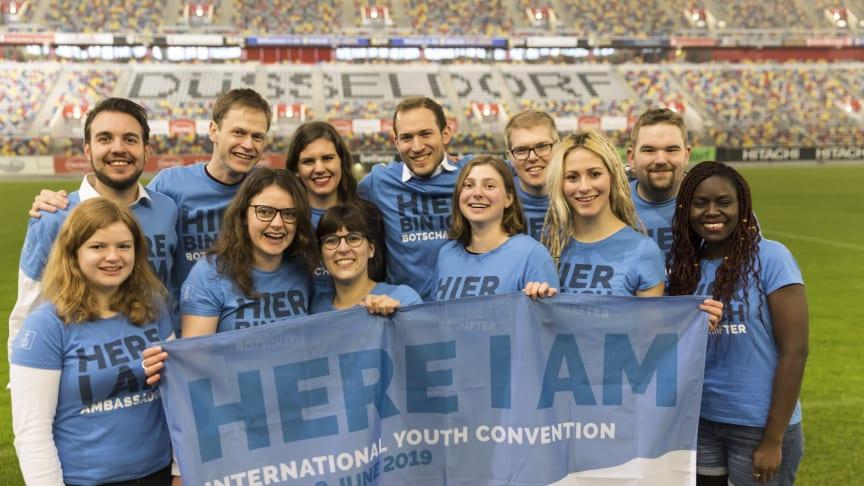 Die Botschafter für den Internationalen Jugendtag