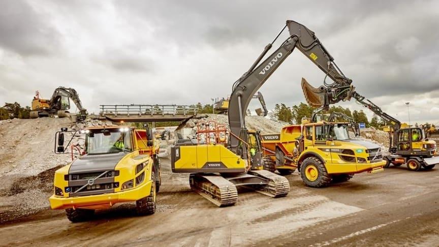 Nu drivs Volvo CE:s kundcenter i Eskilstuna på biobränslet HVO