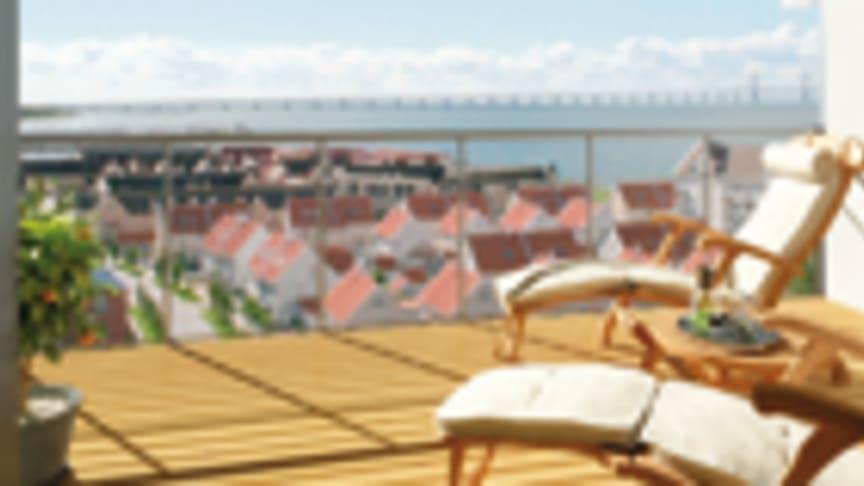 Riksbyggen och NCC startar bygget av Nautilus på Ön utanför Malmö