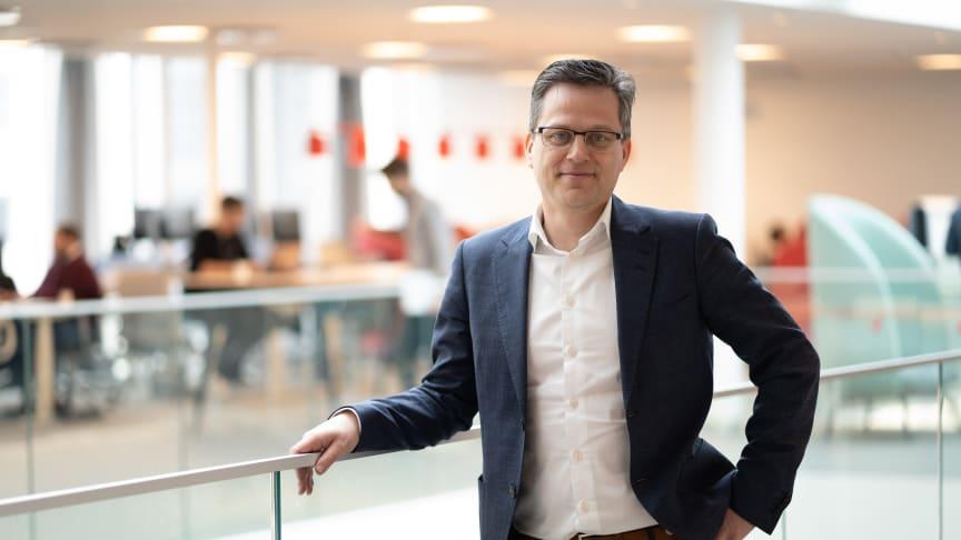 Per Stigenberg, teknikdirektör på Tre Sverige.