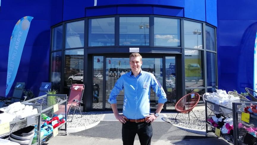Nu öppnar Sveriges största JYSK butik