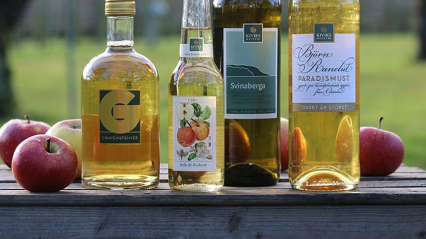 Must och cider från Kiviks Musteri på Österlen