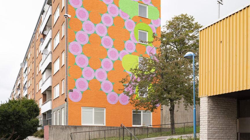EinarMattsson muralmålning Hjulsta