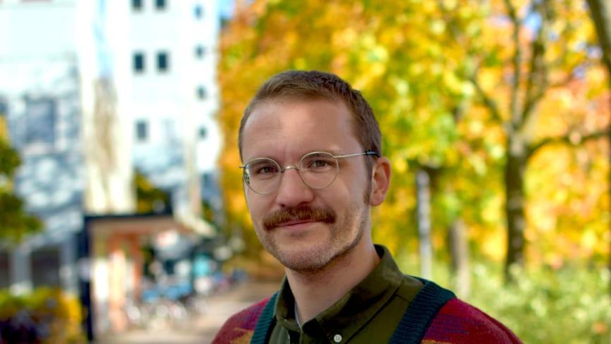 Olof Östergren. Foto: Leila Zoubir/Stockholms universitet