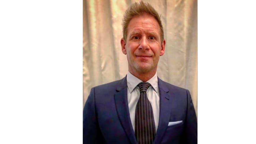 Johan Stangmo Blomqvist, Country Manager i Hansgrohe Sverige från den 1:e april 2019.