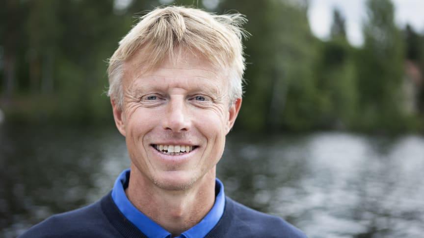 Tomas Viker, generalsekreterare för Vansbrosimningen. Foto: Mickan Palmqvist