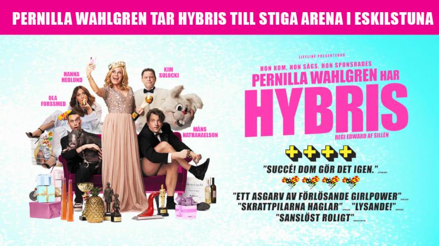 Pernilla Wahlgren tar Hybris till Stiga Arena i Eskilstuna