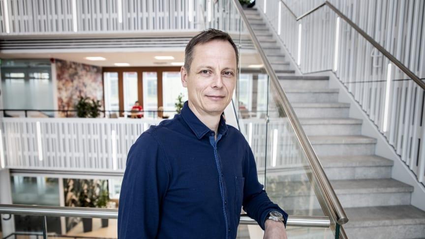 Ulf Andersson, informationssäkerhetschef på Telenor