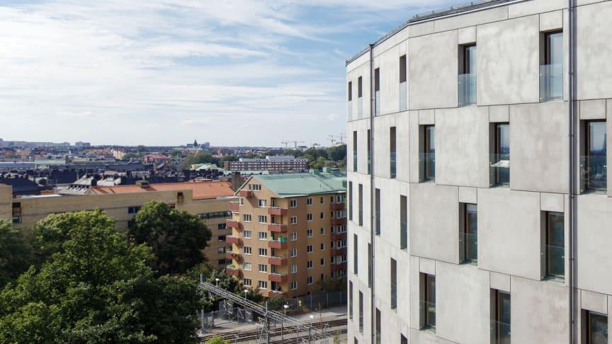Utsikten från KTH över Stockholms takåsar ─ en oas av outnyttjade energikällor