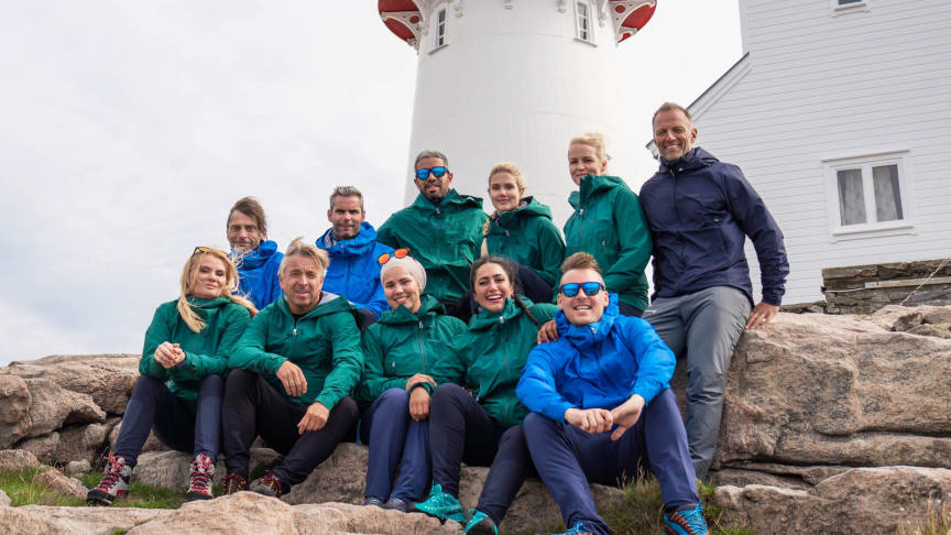 Sesongpremiere på 71 grader nord – Norges tøffeste kjendis i kveld 20.30 på TV Norge. Foto: Bård Basberg