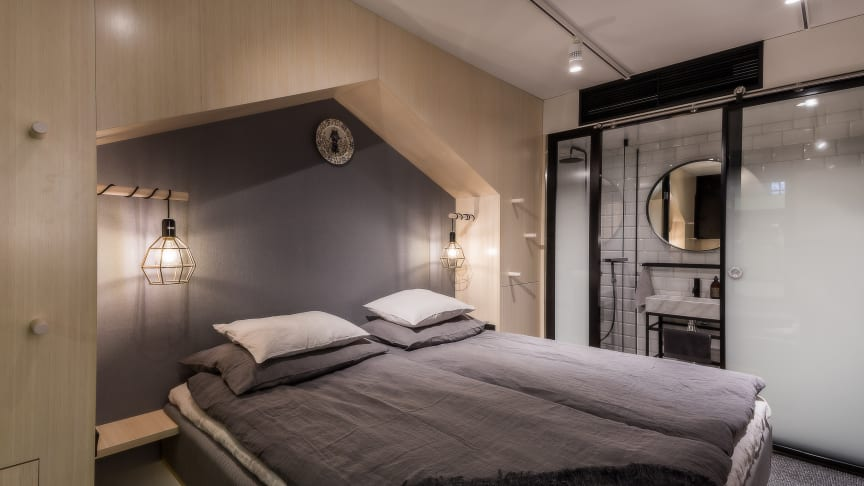 Nya konceptet Hotel With öppnar 106 nya hotellrum på Sveavägen 44