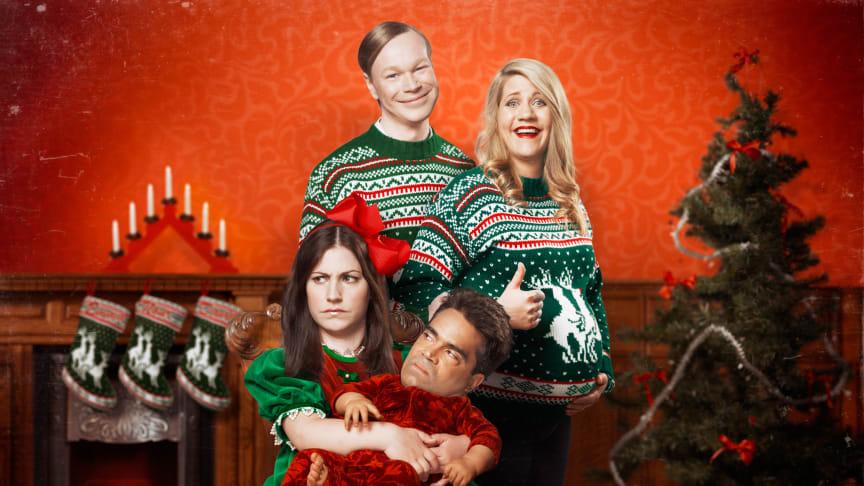 Christmas Comedy 2015! Poster David Batra, Johan Glans, Emma Knyckare & Nour El-Refai