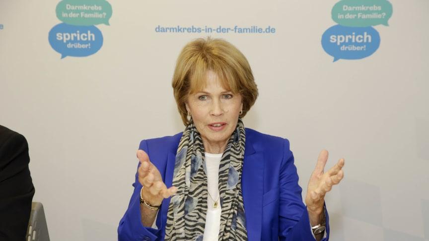 Christa Maar, Vorstand der Felix Burda Stiftung, initiierte das Modellprojekt in Bayern.