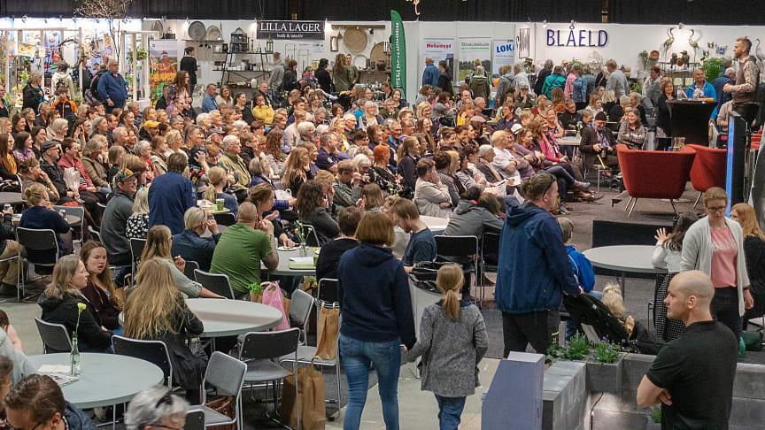 Bild från förra årets Nolia Trädgård.