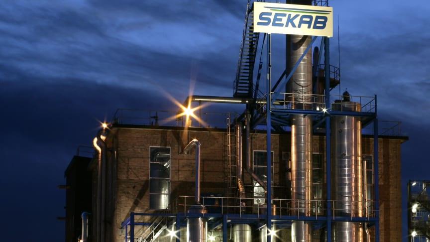 SEKAB tecknar samarbetsavtal med Jubilant Pharmaceuticals  – Nytt avtal för marknadsföring och logistik öppnar dörrar för expansion i Europa