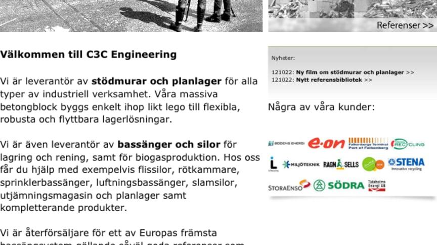 C3C uppdaterar till 2012