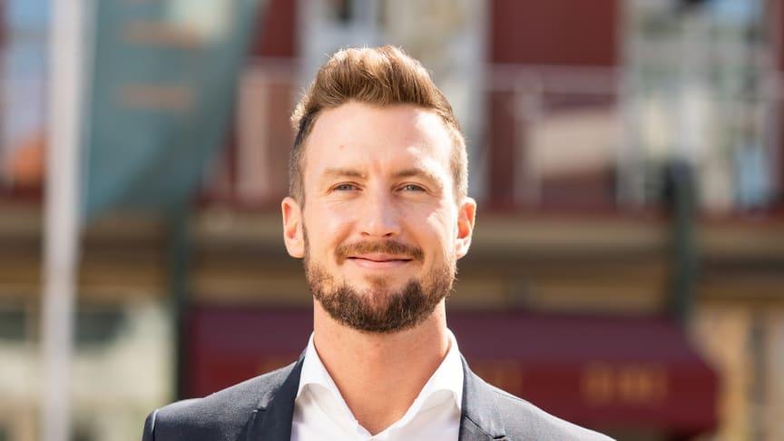 Jacob Karlsson, Årets Hässleholmare 2019. Foto: Nikola Stanojevic