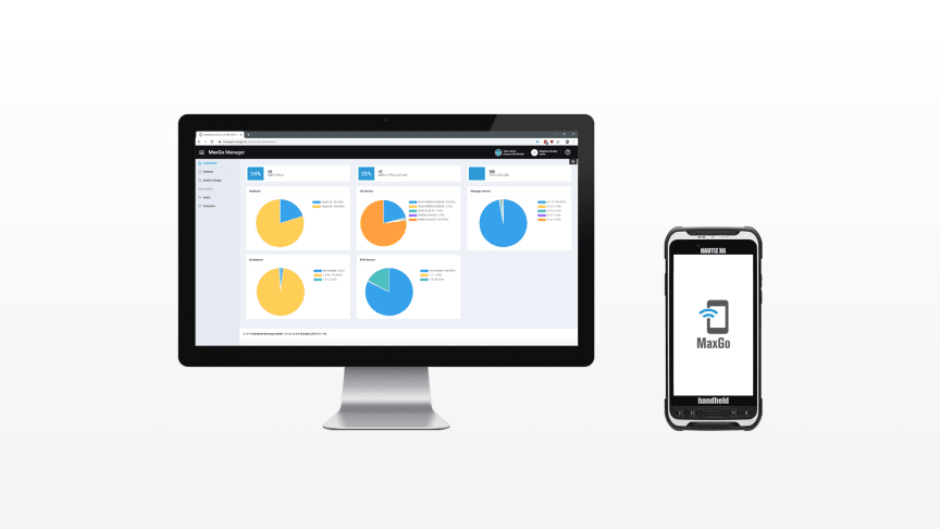 MaxGo Manager allows Handheld Android users to, through remote access, easily configure, manage and support all of their devices in one location.