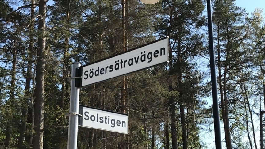 Nära Södersätravägen i Väsjön kommer Myresjöhus och SmålandsVillans nya visningshus att byggas.