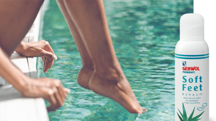 Eintauchen und zurücklehnen. So soft und frisch kann auch Fußpflege sein. Einfach zum Wohlfühlen mal eben zwischendurch! Bild: XtravaganT | adobe stock