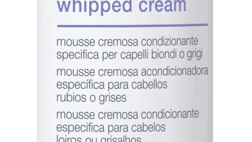 Silver shine whipped cream