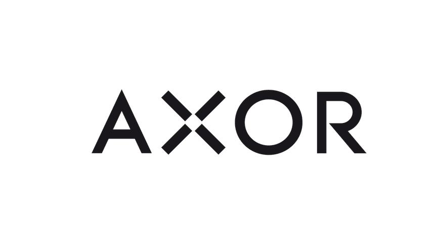 AXOR logo svart