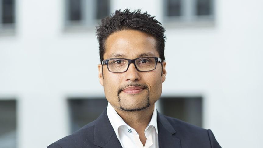 Obos koncernchef Daniel Kjørberg Siraj.