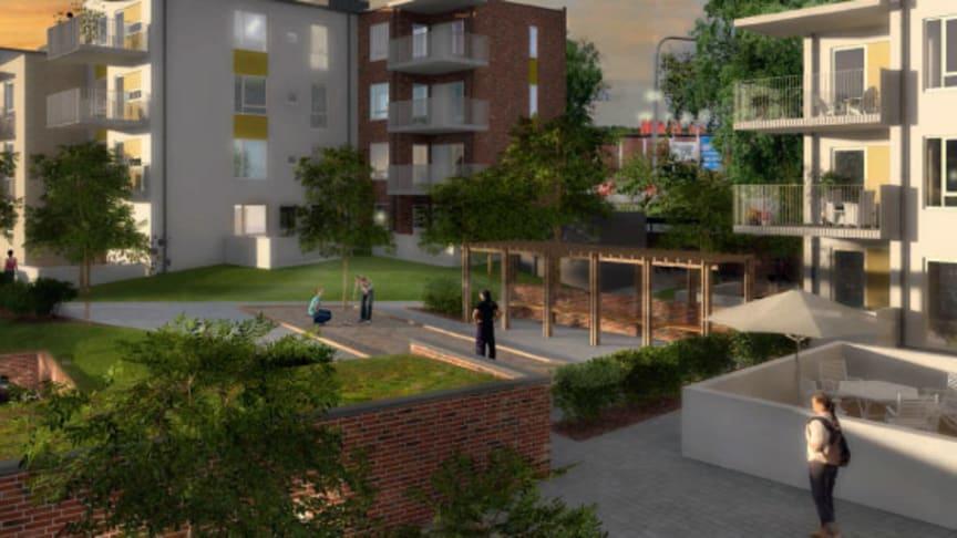 Riksbyggen bygger nytt på Råå i Helsingborg