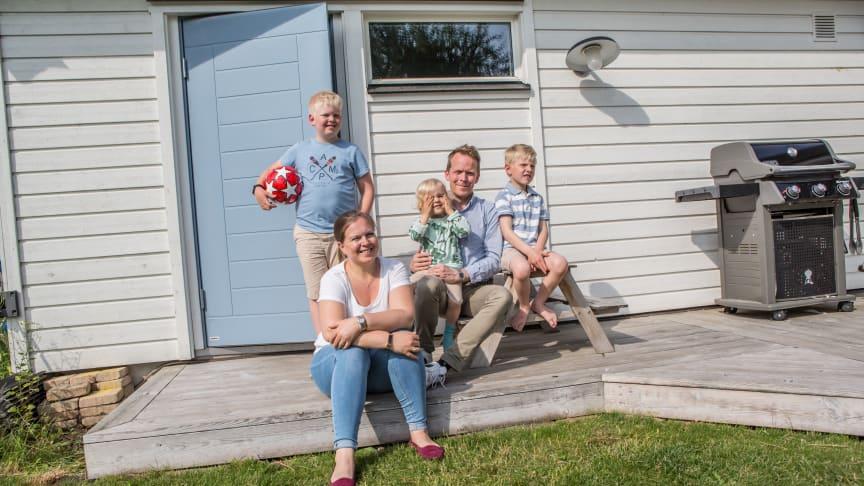 Elfa_3-barnsfamiljen från Lund fick äntligen ordning och reda i förrådet.