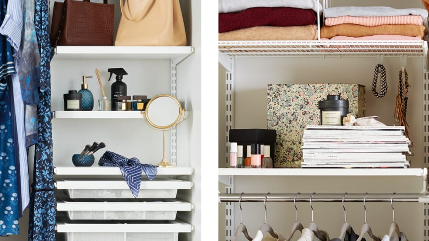 Stilleben i garderob