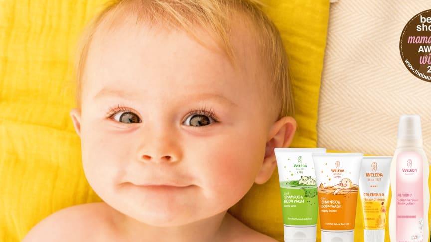 """Weleda utsedd till """"Best Eco Friendly Baby Brand"""" 2018"""