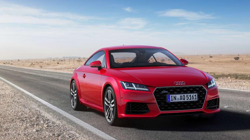 Audi TT fylder 20 år og fejres med facelift