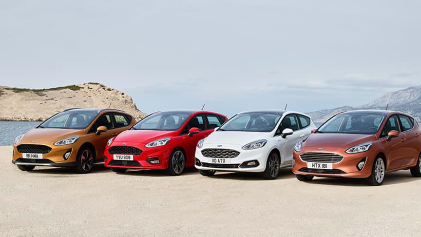 Fiesta letos získala pětihvězdičkové hodnocení Euro NCAP a řadu dalších ocenění