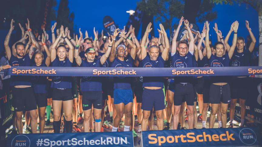 Countdown zum SportScheck Night RUN in Köln 2019