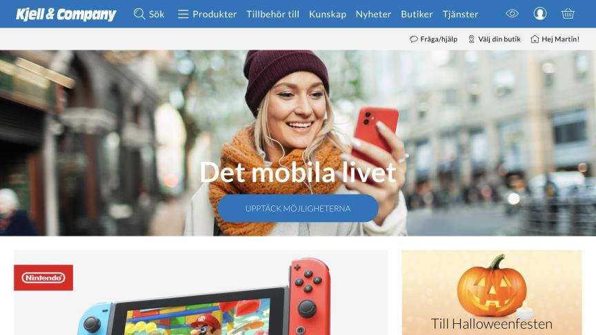Nya, snabba Kjell.com lanserad med Avensia som partner