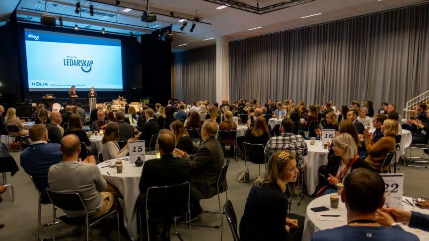 Mängder med handfasta tips på Norra Sveriges största ledarskapskonferens