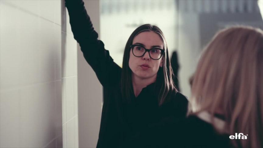 Elfa lanserar skjutdörrar i samarbete med formgivaren Hanna Werning