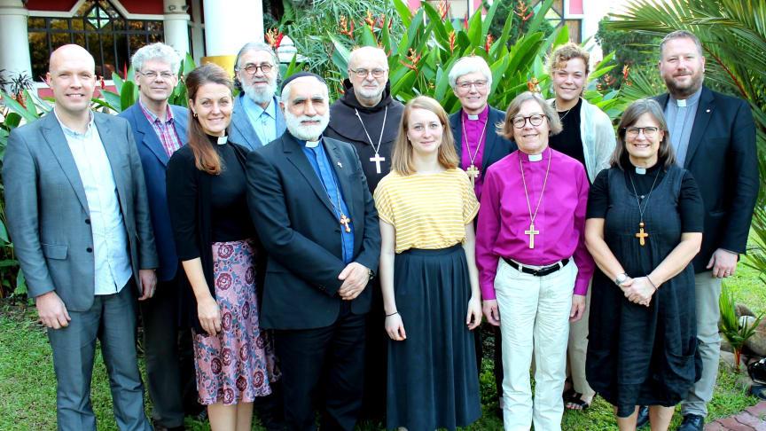 En ekumenisk delegation från Sveriges kristna råd har besökt troende i Indien och Myanmar.