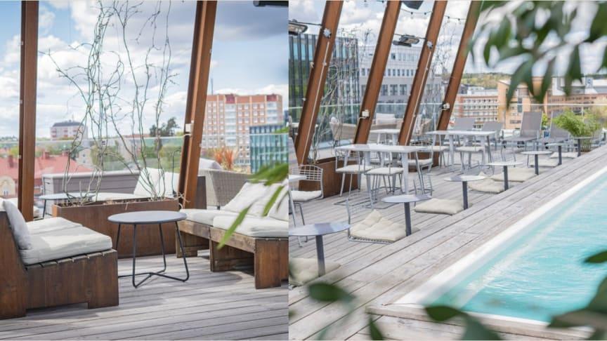 Winery Rooftop Terrace