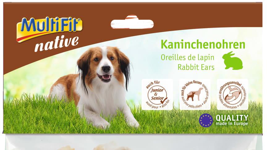 """Vorsorglicher Produktrückruf unseres Lieferanten cadocare GmbH - """"MultiFit Kaninchenohren 100g"""""""
