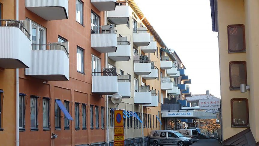 Jorund 13 i Västerås är en av de fastigheter som Derbo förvaltar.