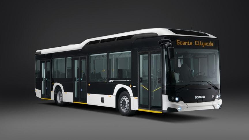 Det nye Scania Citywide busprogram tilbyder lavere brændstofforbrug, højere passagerkapacitet, bedre køreegenskaber og markant forbedret passager- og chaufførkomfort