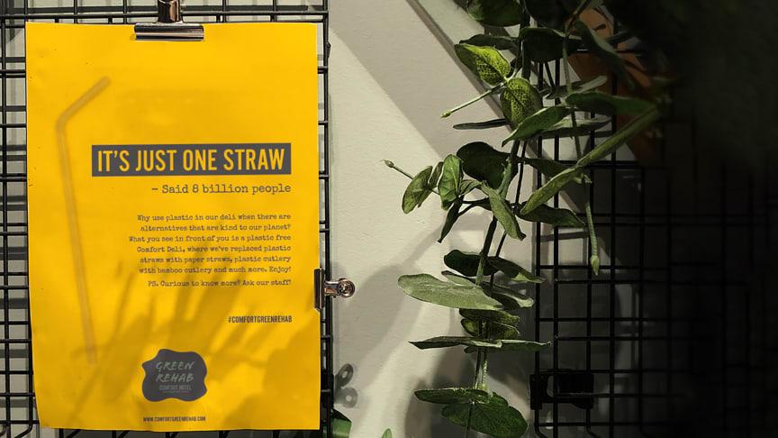 It's just one straw, said 8 billion people.